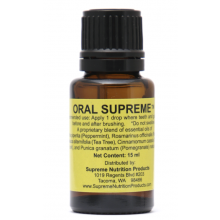 NEW FORMULA! Oral Supreme, 15 ml